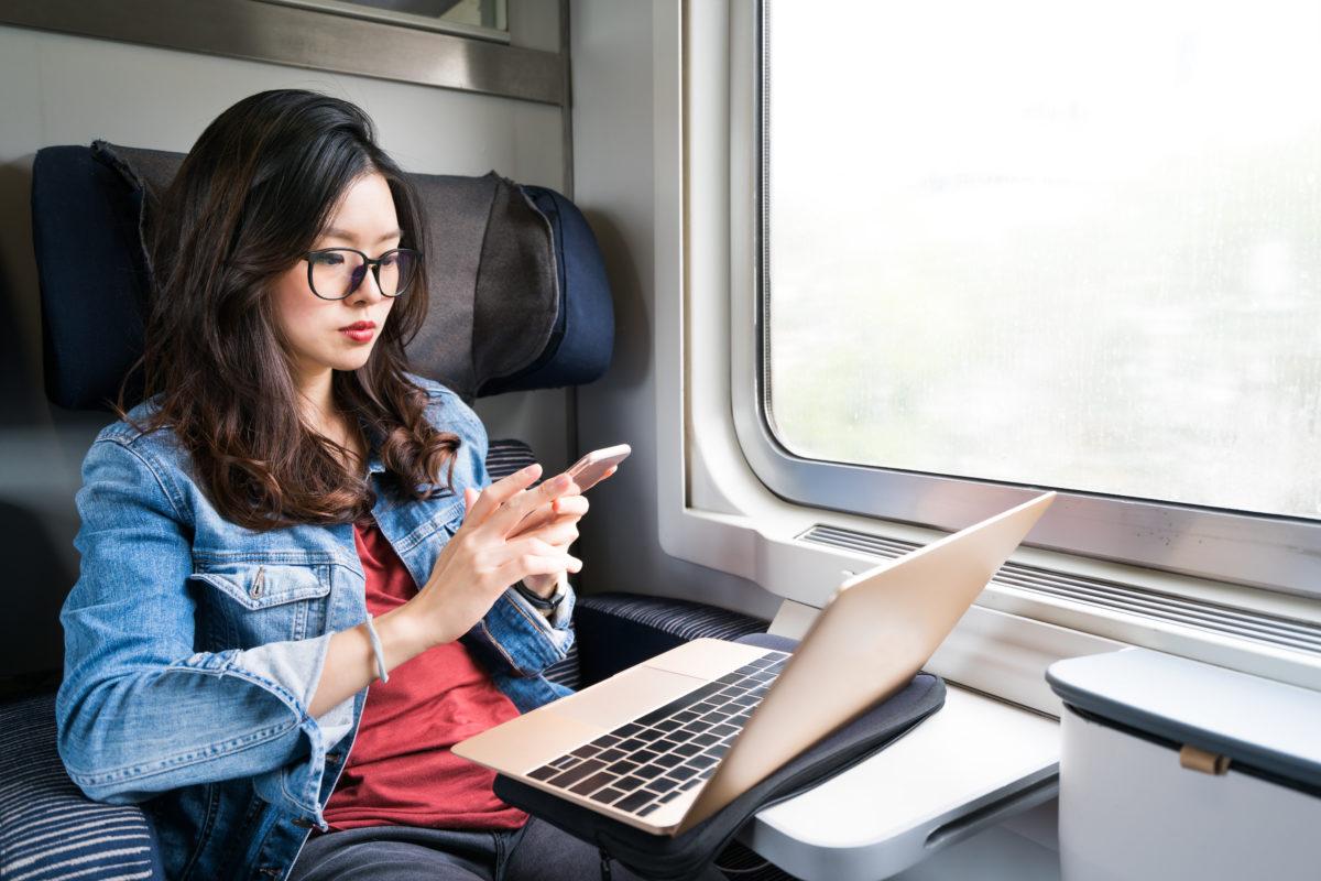 Arbeitsplatz Zug: Warum sich das lohnt