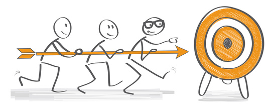 Die vier Phasen einer Teamentwicklung