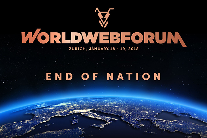 WORLDWEBFORUM am 18. & 19. Januar 2018 in Zürich