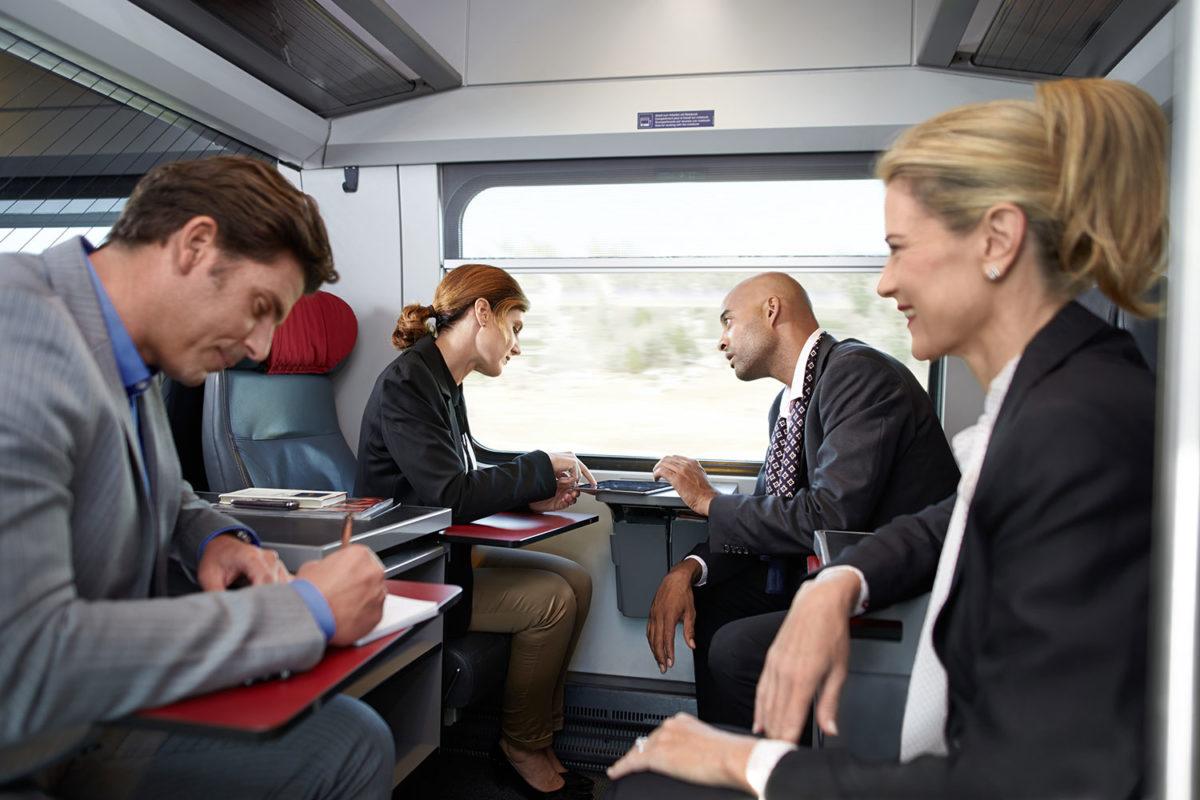 Zug statt Flug