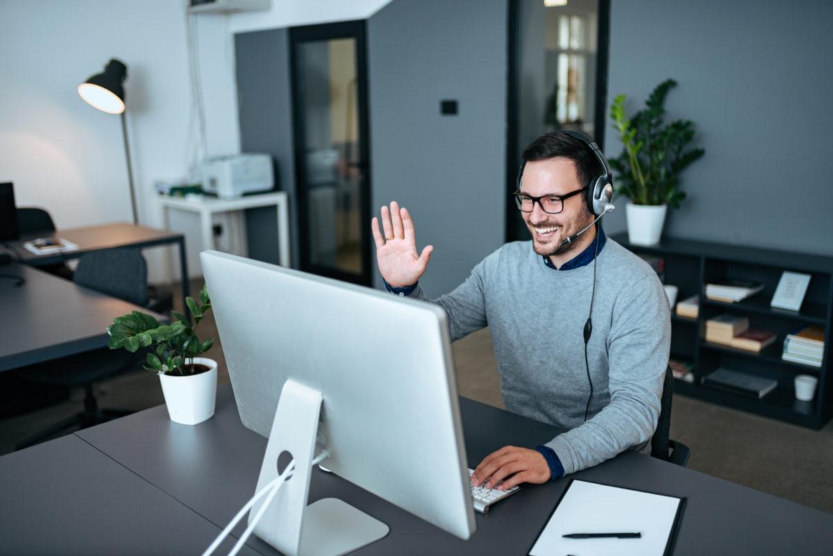 Videotelefonie gehört zur populärsten Lösung im Home-Office