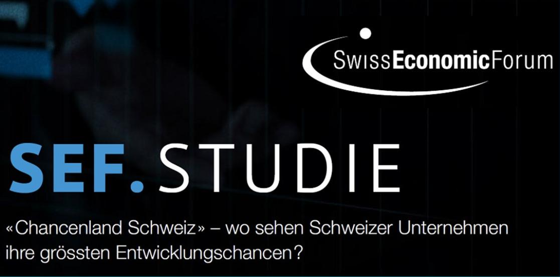 SEF.Studie: Die Schweiz präsentiert sich KMU als «Chancenland»