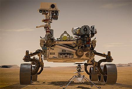 Schweizer KMU in Mars-Mission