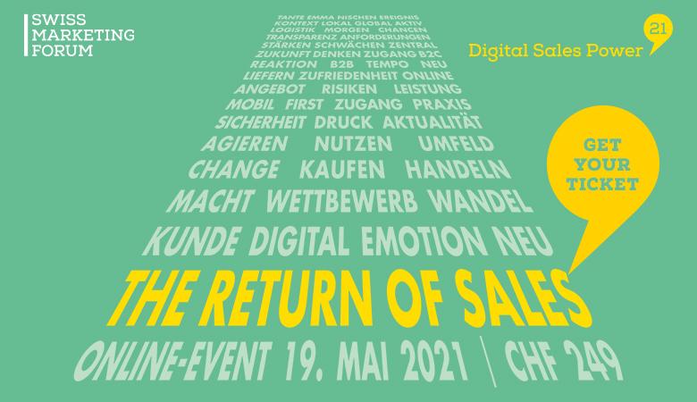 «The Return of Sales!»: Jetzt für das neue Online-Weiterbildungs-Format anmelden