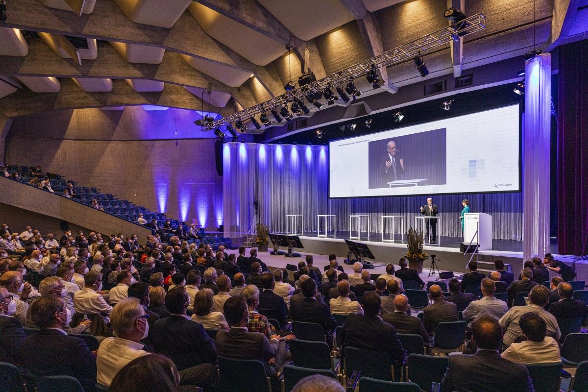 14. Swissmem Industrietag im Zeichen des Freihandels