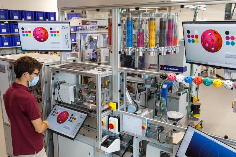 Smart Factory an der Ostschweizer Fachhochschule