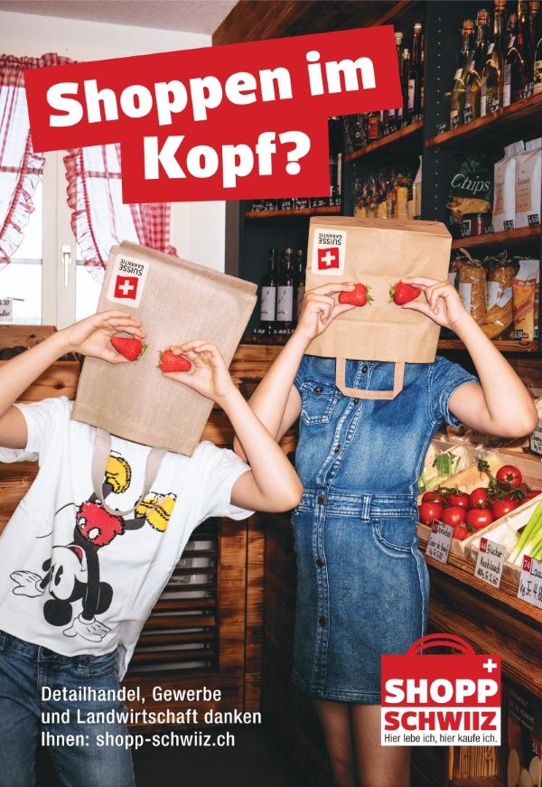 Initiative will mit «Shopp Schwiiz!» Einkauf in der Schweiz fördern