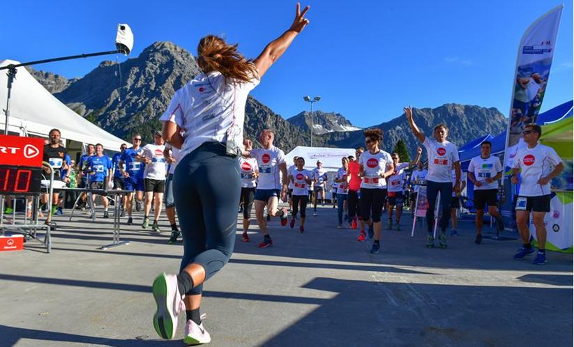 Rund 200 Führungskräfte aus der Schweizer Wirtschaft messen sich sportlich