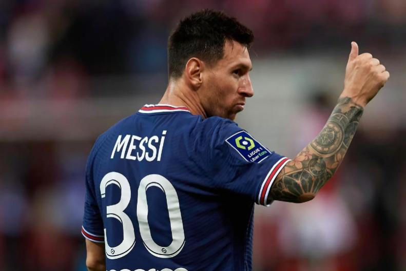 Lionel Messi dribbelt im Krypto-Markt