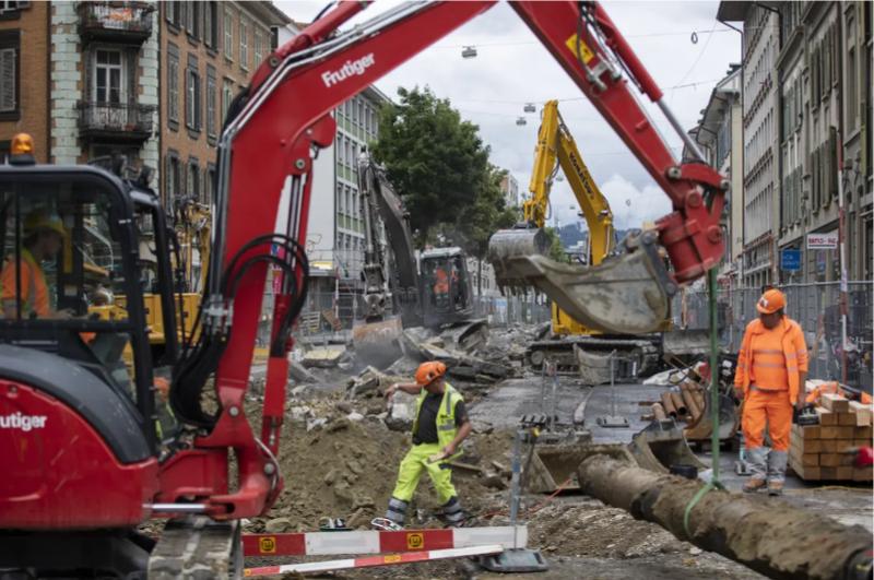 Der Baubranche gehen die Arbeiter aus
